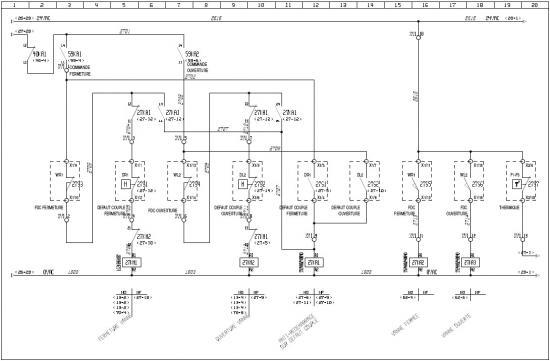 circuit de commande d'une vanne motorisée
